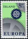(1967) MiNr. 410  **- Island - EUROPA