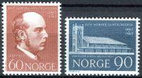 (1967) MiNr. 559 - 560 ** - Norsko - 100 let norské mise Santal