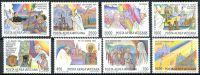 (1986) MiNr. 899 - 906 ** - Vatikán - Světové cesty papeže Jana Pavla II. (1983-1984)