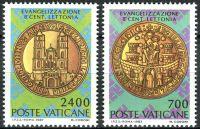 (1987) MiNr. 911 - 912 ** - Vatican - 800. Jahrestag der Christianisierung Lettlands