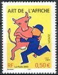 (2003) MiNr. 3694 ** - Francie - Europa: plakát
