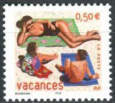 (2003) MiNr. 3718 ** - Francie - Gratulační známka: Krásné prázdniny