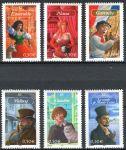 (2003) MiNr. 3730 - 3735 ** - Francie - Románové postavy francouzských spisovatelů