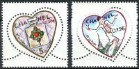 (2004) MiNr. 3774 - 3775 ** - Francie - Den svatého Valentýna