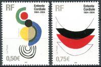 (2004) MiNr. 3801 - 3802 ** - Francie - 100. výročí založení Cordiale
