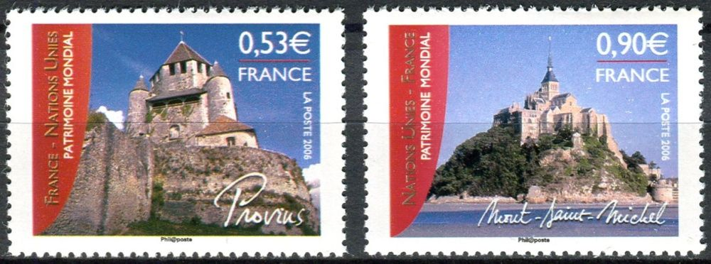 (2006) MiNr. 4098 - 4099 ** - Francie - Světové dědictví UNESCO
