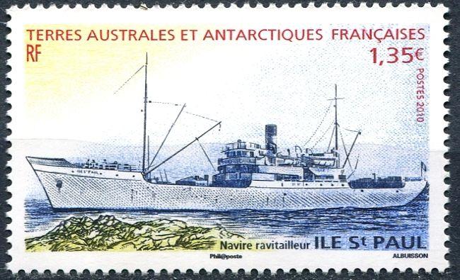 (2010) MiNr. 710 ** - FA - zásobovací loď Ile St Paul