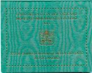 (2013) - 2 € - Vatikán - 28. světový den mládeže Rio (BU)