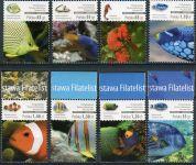 (2014) MiNr. 4716 - 4723 ** - 0,35 - 1,4 Zl - Polsko - Korálové ryby