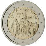 (2017) - 2 € - Vatikán - Zjevení Panny Marie ve Fatimě (BU)