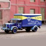 Schuco Büssing (1950) - Leuchttrum nákladní vůz (1:43)