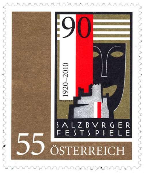 (2010) č. 2869 ** - Rakousko - Salzburger Festspiele