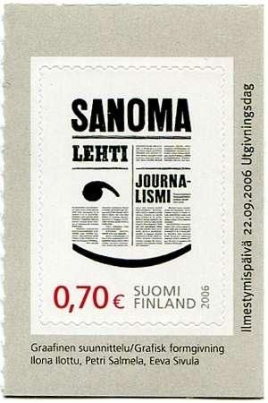 (2006) MiNr. 1820 ** - Finsko - 100 roků Svazu mladých finských novinářů