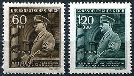(1944) č. 116 - 117 ** - B.ü.M.- 55. narozeniny A. Hitlera