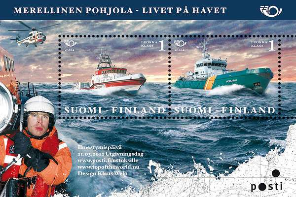 (2012) č. 2177 - 2178 ** - Finsko - BLOCK 73 - Severní mořeplavba