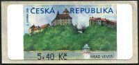 (2000) AU 1B ** - Veveří 5,40 CZK (ohne *)