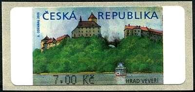 (2000) AU 1B ** - Veveří 7 Kč (bez *) Česká pošta