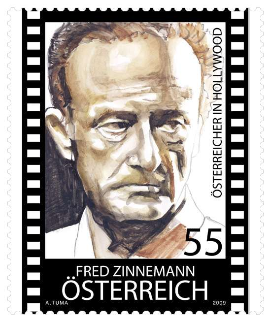 (2009) MiNr. 2803 ** - Rakousko - Rakušané v Hollywoodu: Fred Zinnemann