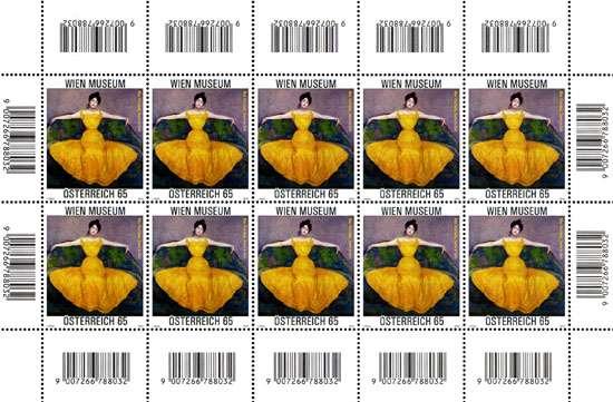 (2010) č. 2859 ** - Rakousko - PL - Max Kurzweil - Dáma ve žluté