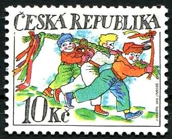 Česká pošta (2010) č. 624 ** - ČR - Velikonoce