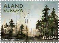 (2011) MiNo. 341  ** - Aland Island - Europa 2011