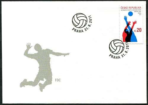(2011) FDC 690 - ME ve volejbale mužů