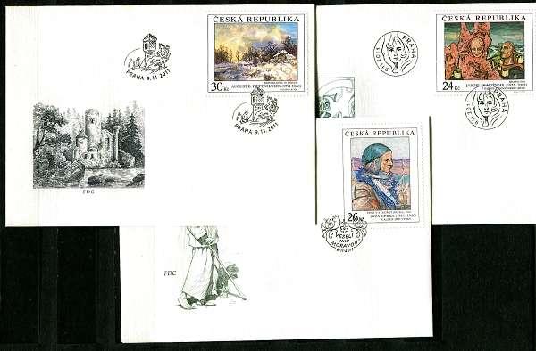 Česká pošta (2011) FDC 704-706 - Umění