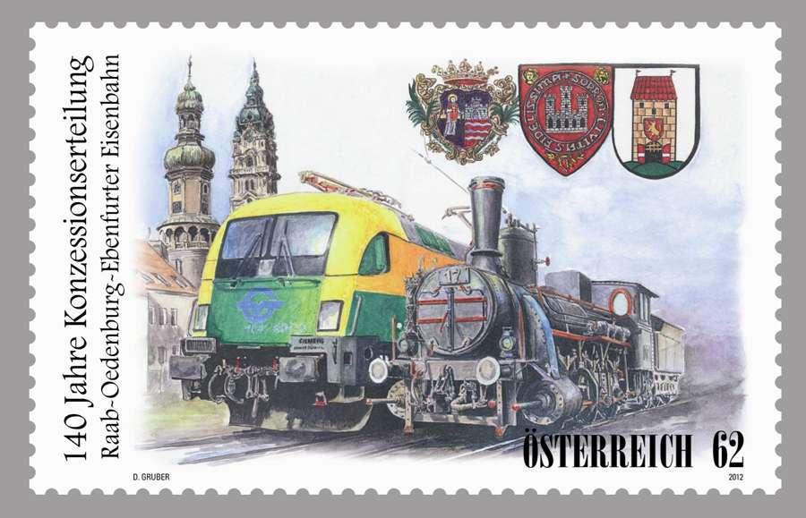 (2012) č. 3032 ** - Rakousko - Eisenbahnen - Raab-Oedenburg-Ebenfurte