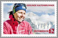 (2012) MiNr. 3021 ** - Rakousko - Gerlinde Kaltenbrunner