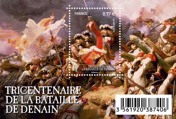 (2012) č. 5348 ** - Francie - BLOCK 178 - Bitva o Denain