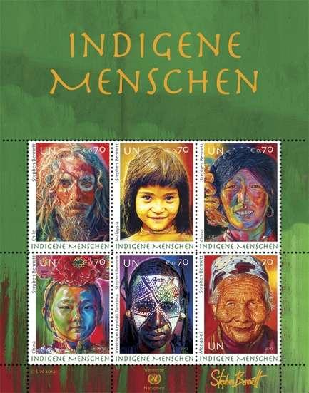 (2012) MiNr. 758-763 ** - OSN Vídeň - BLOCK 32 - Domorodí lidé 2012