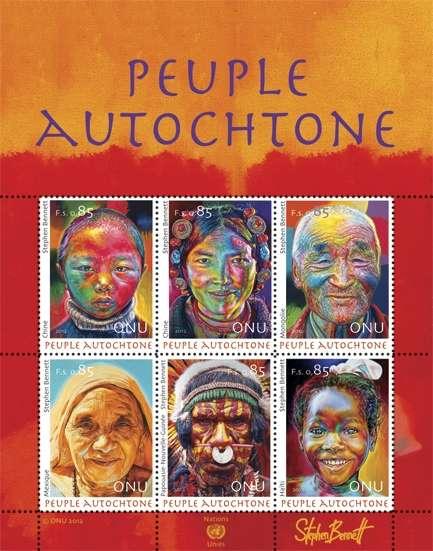 (2012) MiNr. 799 - 804 ** - OSN Ženeva - BLOCK 33 - Domorodí lidé 2012