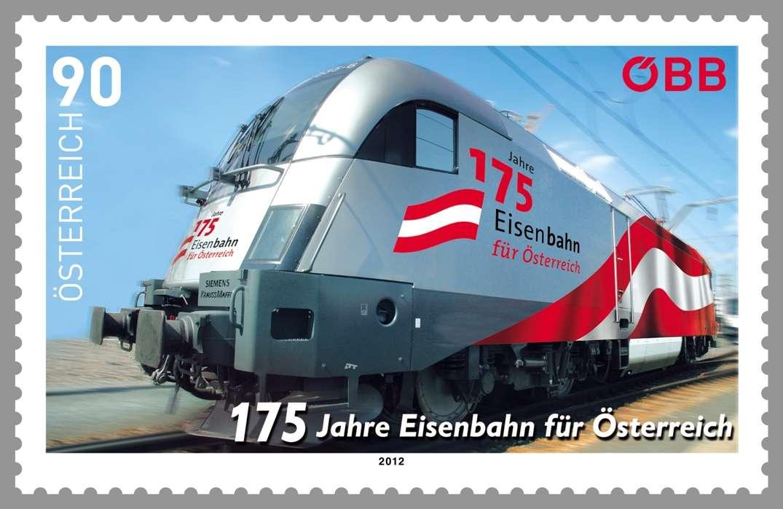 (2012) MiNr. 3040 ** - Rakousko - 175 Jahre Eisenbahn für Österreich