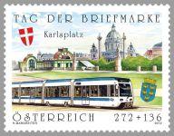 (2012) MiNr. 2996 ** - Rakousko -  Den známky - tramvaj