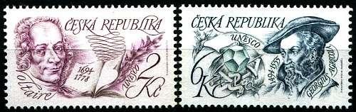 (1994) č. 32-33 ** - ČR - Výročí osobností UNESCO (série)