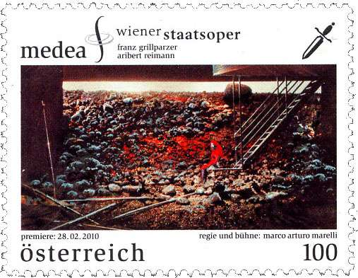 (2010) č. 2857 ** - Rakousko - Wiener Staatsoper - Medea