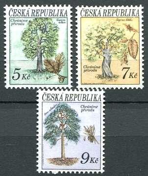 (1993) č. 23-25 ** - ČR - Ochrana přírody - stromy (série)