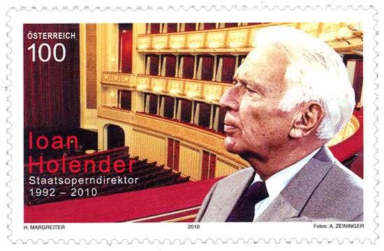 (2010) č. 2877 ** - Rakousko - 75. Geburtstag von Ioan Holender