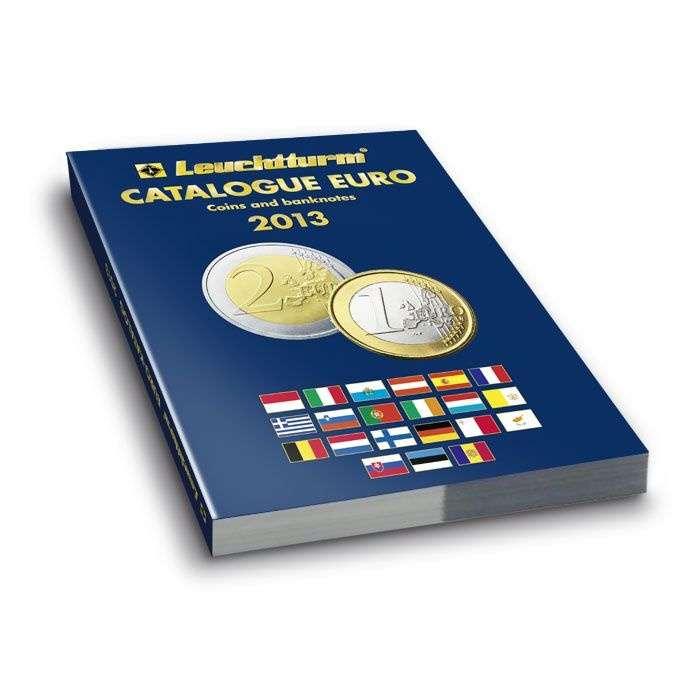 Euro katalog AN (angličtina) - mince a bankovky 2013