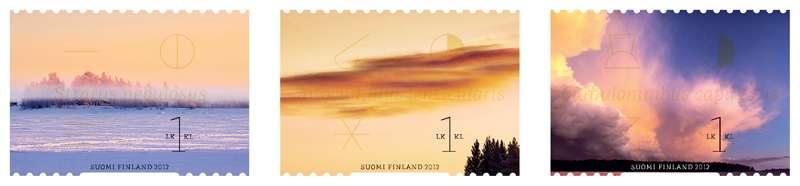 (2012) č. 2184 - 2186 ** - Finsko - mraky