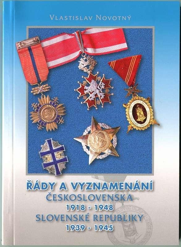 Nakladatelství Novotná. Katalog - Řády a vyznamenání ČSR 1918-1948 a SR 1393-1945