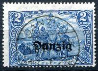 (1920) MiNr. 11 - O - Danzing - přetisk Danzing