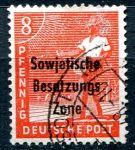 (1948) MiNr. 184 - O - Sovětská zóna - Profese - přetisk