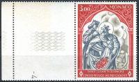 (1969) MiNr. 927 ** - Monako - KL - Červený kříž v Monaku