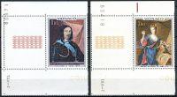 (1969) MiNr. 946 - 947 ** - Monako - KL - Obrazy z knížecího paláce (III)
