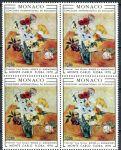 (1970) MiNr. 973 ** - Monako - 4-bl - Mezinárodní soutěž květinových vazeb, Monte Carlo