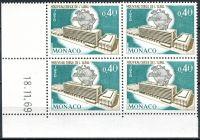 (1970) MiNr. 976 ** - Monako - 4-bl - datum tisku - Inaugurace nového ústředí Světové poštovní unie