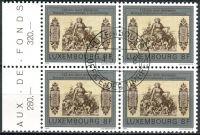 (1981) MiNr. 1034 O - Lucembursko - 4-bl - 125 let bankovek Mezinárodní banky v Lucembursku