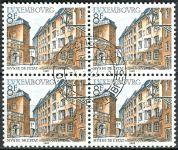 (1982) MiNr. 1056 O - Lucembursko - 4-bl - Stavby