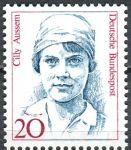 (1988) MiNr. 1365 ** - Německo - Ženy německých dějin (V) - Cecily Aussem